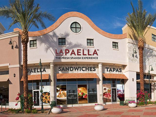 LaPaella Restuarant Exterior View